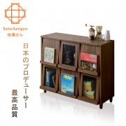【Sato】NEFLAS時間旅人六門收納書櫃‧幅111cm