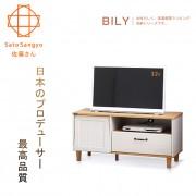 【Sato】BILY長崎之夏單門單抽電視櫃‧幅100cm