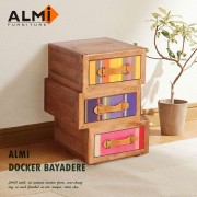 【ALMI】DOCKER BAYADERE-ASYMMETRIC  3 DRAWERS 三抽收納櫃