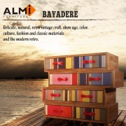 【ALMI】DOCKER BAYADERE- ASYMMETRIC 8 DRAWER 八抽櫃