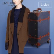【MOIERG】Old Time迷戀舊時光combi trunk (L-23吋) Navy