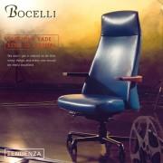 【BOCELLI】TENDENZA趨勢風尚高背辦公椅(義大利牛皮)深藍