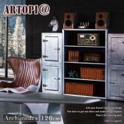 【ARTOPI】Archimedes阿基米德工業風書櫃展示櫃