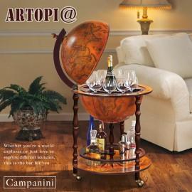【ARTOPI】Campanini坎帕尼尼地球儀紅酒架
