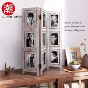 【C'est Chic】時光行旅桌上型相框屏風