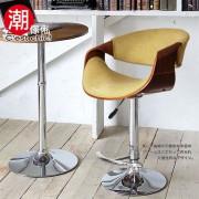 【C'est Chic】Giselle吉賽爾吧台椅(布質)-橄欖綠