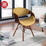 【C'est Chic】Sandra桑德拉單椅(布質)-橄欖綠